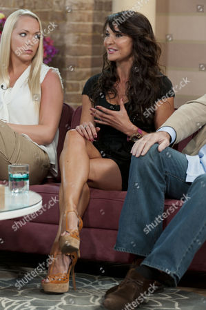 Stock Image of Leigh Marlee and Lizzie Cundy