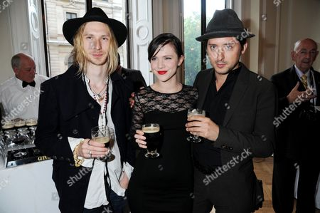 Guest with Edie Langley and Carl Barat