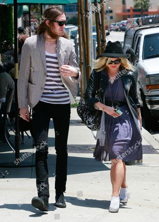 Editorial image of Kelly Osbourne and Anton Lombardi out and about, Los Angeles, America - 26 May 2011