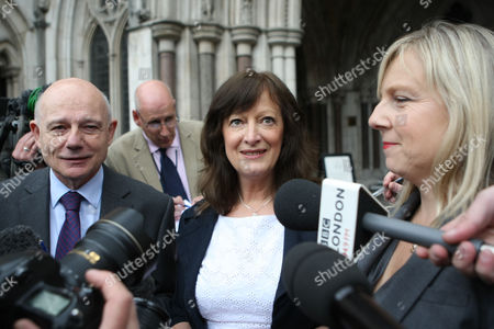 Sharon Shoesmith with her solicitor and long time supporter Tony Child