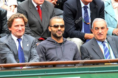 Charles Beigbeder, Tony Parker and Jean Gachassin