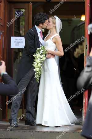 Editorial image of Wedding of Pippa Middleton's ex boyfriend Billy More Nesbitt and Charlotte Davison, St Cuthbert's Church, Edinburgh, Scotland, Britain - 28 May 2011