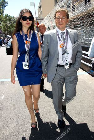 French Industry Minister Eric Besson and his wife Yasmine Torjeman-Besson