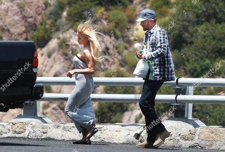 Pamela Anderson and Jon Rose