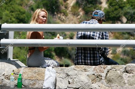 Editorial image of Pamela Anderson out and about in Malibu, Los Angeles, America - 28 May 2011