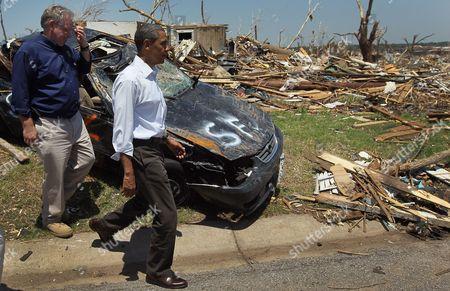 Missouri Governor Jay Nixon and United States President Barack Obama