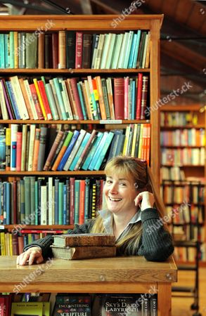 Editorial image of The new owners of Richard Booth book shop in Hay on Wye, Powys, Wales, Britain - 27 May 2011