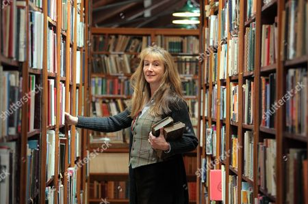 The new owner of Richard Booth bookstore, Elizabeth Haycock