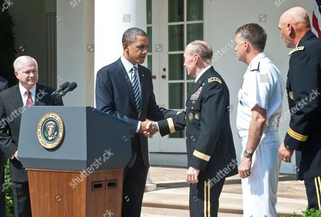 Editorial image of President Barack Obama names new Chairman of Joint Chiefs of Staff, Memorial Day, Washington D.C., America - 30 May 2011