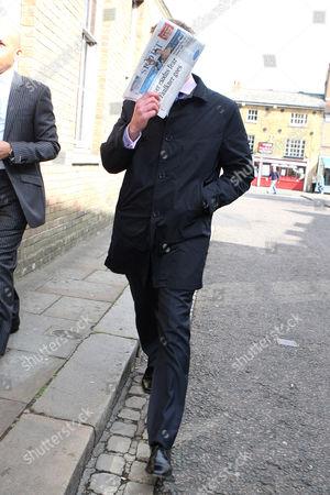 Adam Cottrell arriving at court