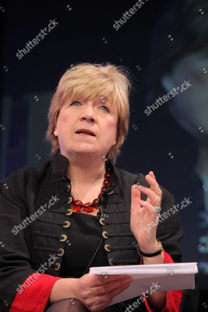 Polly Toynbee talking about the book she has writen called The Verdict