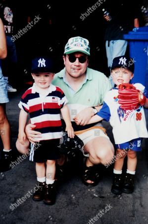 Kevin Dennis with sons Ryan and Elliot