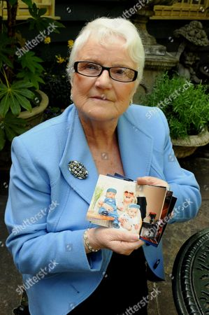 Editorial photo of Patricia Bingley who has been stopped from seeing her 9/11 orphaned grandchildren by her daughter-in-law, Clacton, Essex, Britain - May 2011