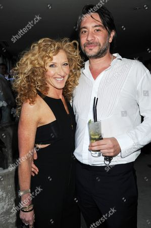 Stock Photo of Kelly Hoppen and Adam Meiklejohn