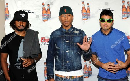 Editorial photo of Search for the Coldest with N.E.R.D, New York, America - 31 May 2011