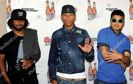 Editorial image of Search for the Coldest with N.E.R.D, New York, America - 31 May 2011