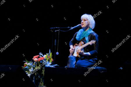 Editorial image of Sophia Knapp in concert at the Barbican in London, Britain - 09 May 2011