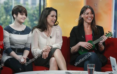 Lizzie Stansfield, Grainne Seoige and Suranne Jones