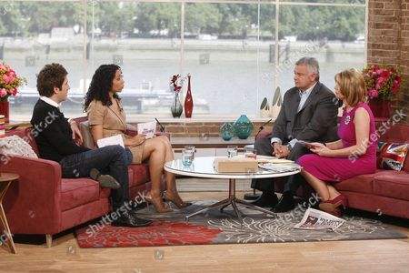 Andy Goldstein and Margherita Taylor with Eamonn Holmes and Ruth Langsford