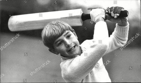 Ten-year-old Jeremy Cowdrey Son Of Cricketer Colin Cowdrey.