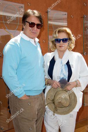 Stock Picture of Sylvie Vartan and Tony Scotti