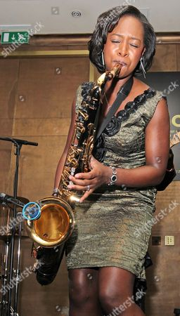 Editorial photo of YolonDa Brown in concert, London, Britain - 21 May 2011