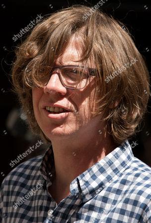 Thurston Moore, singer, songwriter and guitarist of Sonic Martin Glover