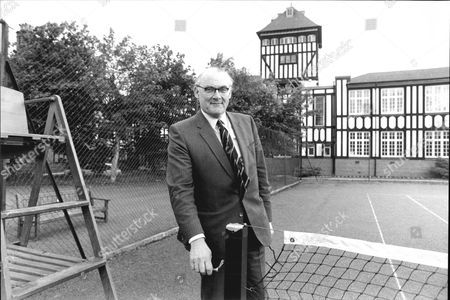 Editorial photo of James Cochrane Chairman Of Lawn Tennis Association In 1981.