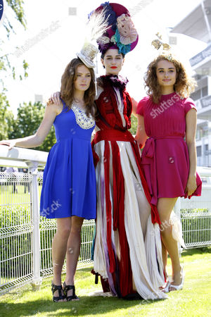 Editorial photo of Ladies Day, Derby Festival, Epsom Downs, Surrey, Britain - 03 Jun 2011