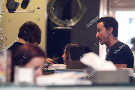 Editorial photo of Imogen Thomas visiting a hairdressers in central London, Britain - 03 Jun 2011