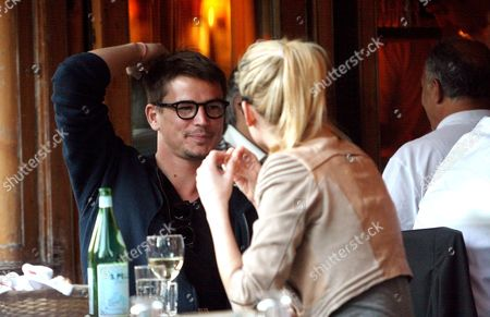 Editorial image of Josh Hartnett and girlfriend Sophie Lie at lunch in the West Village, New York, America - 02 Jun 2011