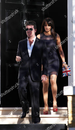 Simon Cowell and Jackie St Clair