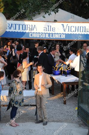 Editorial image of Frieze Magazine 20th Anniversary Party at the 54th International Art Biennale, Venice, Italy - 03 Jun 2011