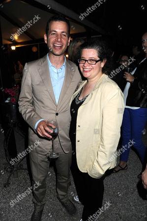 Matthew Slotover and Amanda Sharp