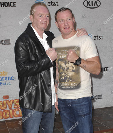Stock Photo of Micky Ward, Dicky Eklund