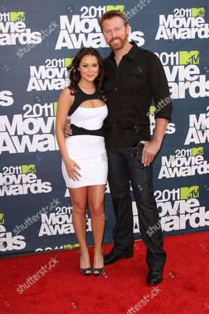 Stock Image of Alexa Vega and husband Sean Covel