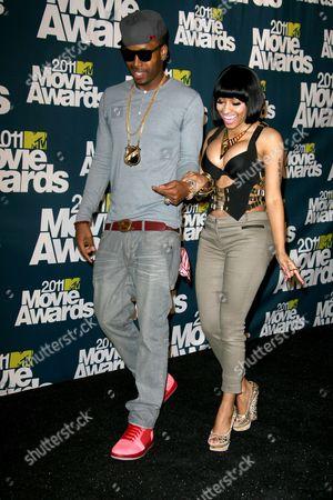 Stock Photo of Nicki Minaj, Scaff Beezy