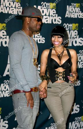 Stock Picture of Nicki Minaj, Scaff Beezy