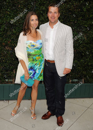 Chris O Donnell and wife Caroline Fentress