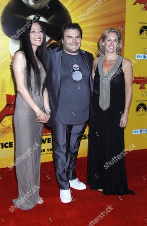 Jennifer Yuh, Jack Black and Melissa Cobb