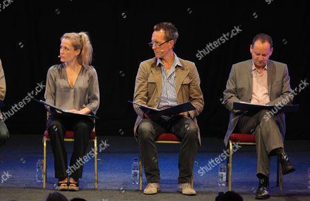 Gillian Anderson, Richard E Grant and Philippe Sands