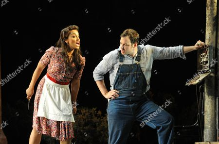 Editorial image of 'L'elisir d'amore' performed at the Glyndebourne Festival, East Sussex, Britain - 05 Jun 2011