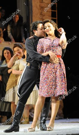 Editorial photo of 'L'elisir d'amore' performed at the Glyndebourne Festival, East Sussex, Britain - 05 Jun 2011