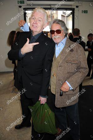 Stock Image of Michael McCartney and Justin de Villeneuve