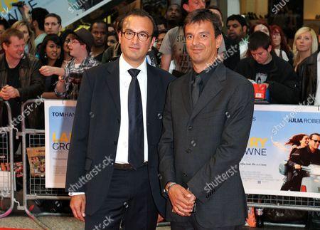 Stock Photo of Fabrice Giafermi and Phil Edmonds Rousselet