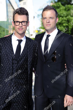 Brad Goreski and designer Simon Spurr