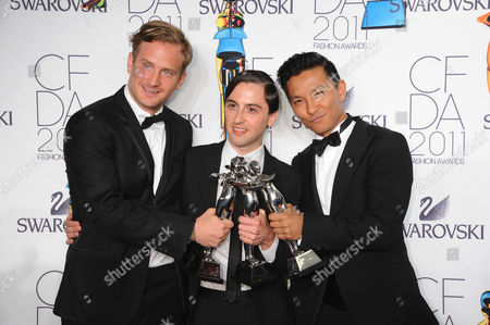 Robert Geller, Eddie Borgo, Prabal Gurung