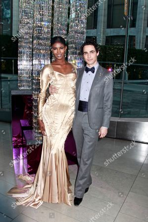Sessilee Lopez and Zac Posen
