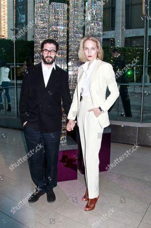 Stock Picture of Leelee Sobieski and husband Adam Kimmel