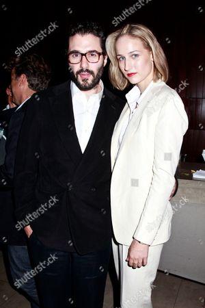 Stock Image of Leelee Sobieski and husband Adam Kimmel
